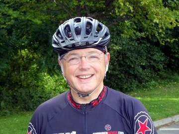 Chris Oliver on LEJOG August 2009
