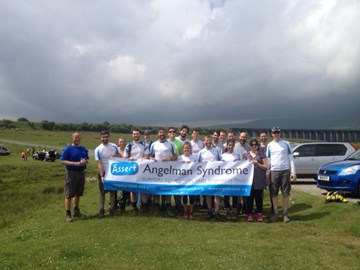 The Team at Ribblehead Viaduct