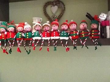Elves ready for Christmas