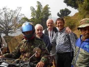 Tom's last visit to Nepal