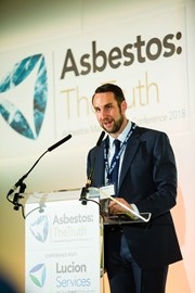 Lucion Services found Dr Patrick Morton speaking at Asbestos: The Truth conference 2018