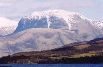 Ben Nevis one of the 3 peaks