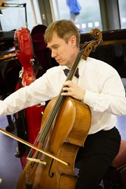 The Bone Cancer Centre Appeal Concert - Cello played by Consultant Dr Mark Garton