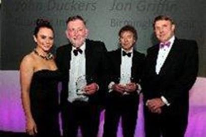 John Duckers and Jon Griffin award night