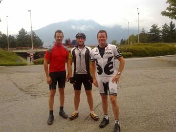 The Team - Craig, Allan and Mark.
