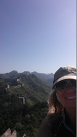 Treking the Great Wall of China
