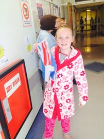 Olympic Torch at Yorkhill