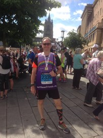 Finisher with my medal :o)