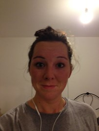 exceptionally sweatty after just 3miles!
