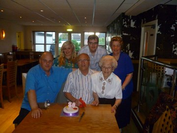 Granddads 80th  just before he got ill