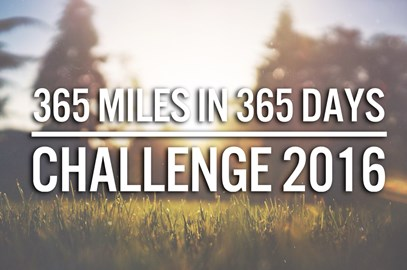 365 Miles in 365 Days Challenge 2016