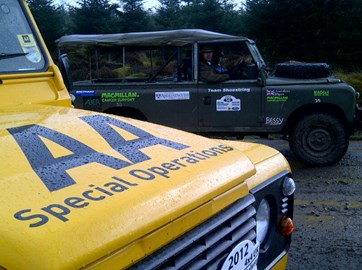 AA SORT helping out on MAC 4x4 2012
