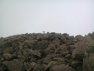 On top of Broad Crag 4-5-13