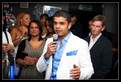 Ice White, Charity Xmas Party, 2012