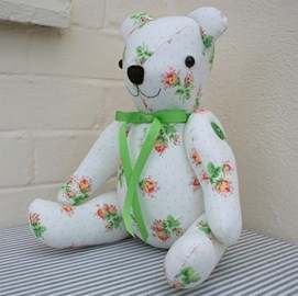 You could win this beautiful bear!