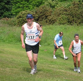 Running the Seven Hills of Edinburgh