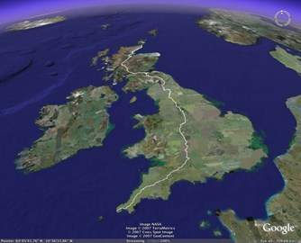 John O'Groats to Lands End 14th May 2017