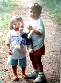 From the First canal walk, me and my sister Katie are pictured