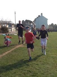 We love running...
