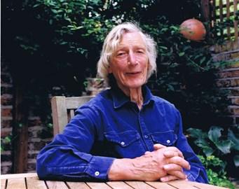 Peter in his garden