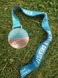 The Great North Run (walk) is done.