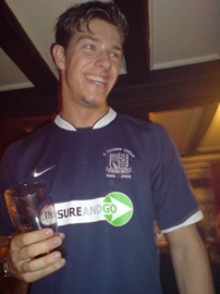 Southend United and a Pint - NICE!