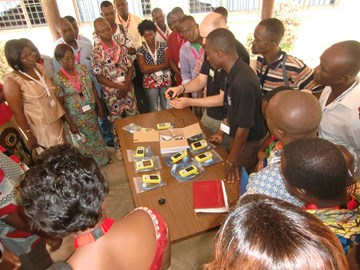LIFEBOX training in Togo