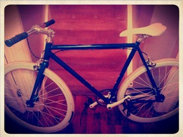 my amazing fixed gear bike!