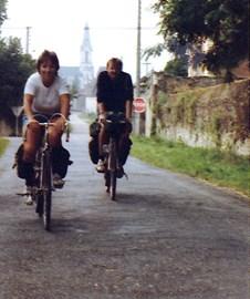 France with Steve, 1980