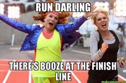 The last 1km...