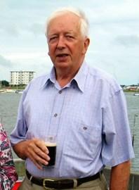 Enjoying a Guinness!