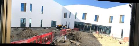 Central Courtyard Garden @ New MK Cancer Centre