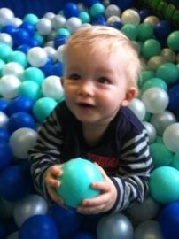 Little George Enjoys Going To Softplay