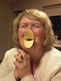 She really is quackers!!!