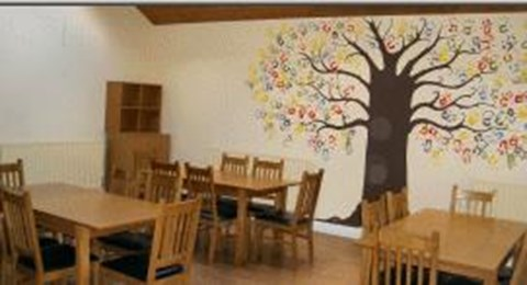 Hope centre dining room