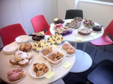 Cake sale at work!