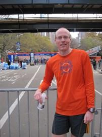 After Unofficial New York City Marathon