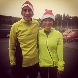 Aoife's Christmas Training