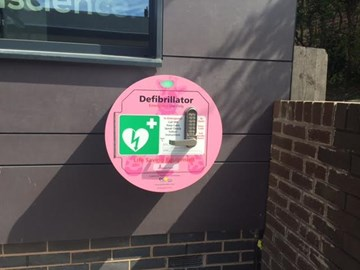 Millie's Trust External AED box