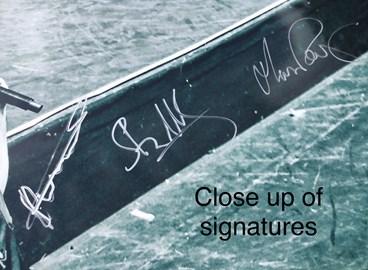 Signature close up