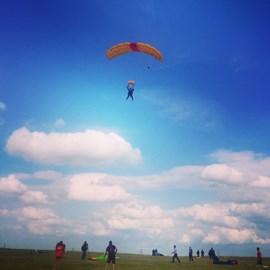 Landing at Sibson :)