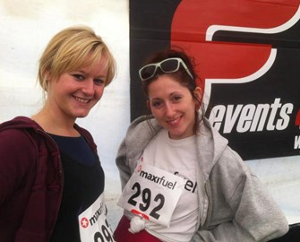 Before my first 10km in Feb!!