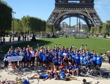 London to paris. Done