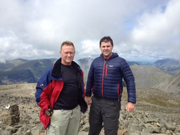 Scafell Pike training day 19 Jul 12