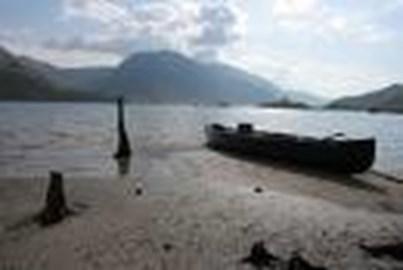 Loch Morar, Scotland. 310m deep.