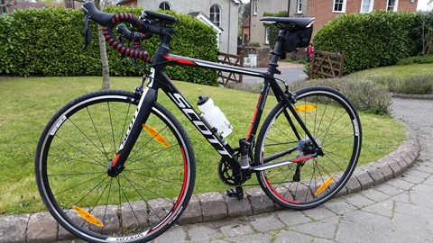 My new road bike - Amsterdam here we come!
