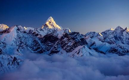 The Nepalese Himalaya