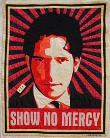 SHOW NO MERCY quilt sent to Damien Molony