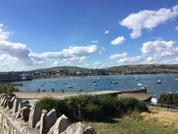 Swanage Bay on a good day.....
