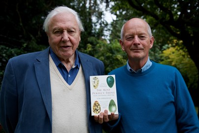 David Attenborough and Tim Birkhead